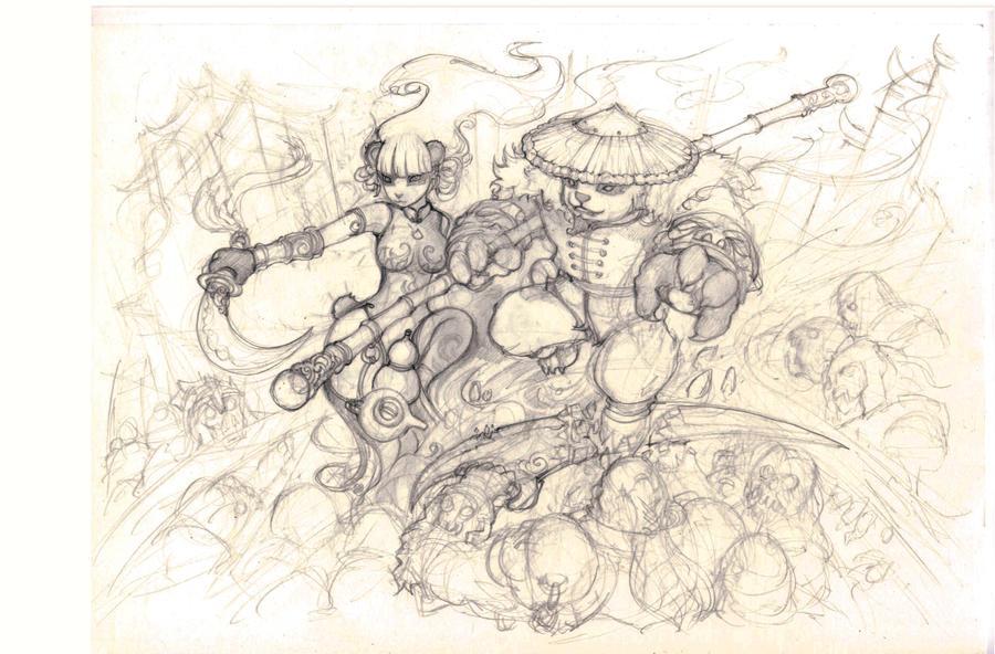 Panda Counterattack-1 by liuhao726