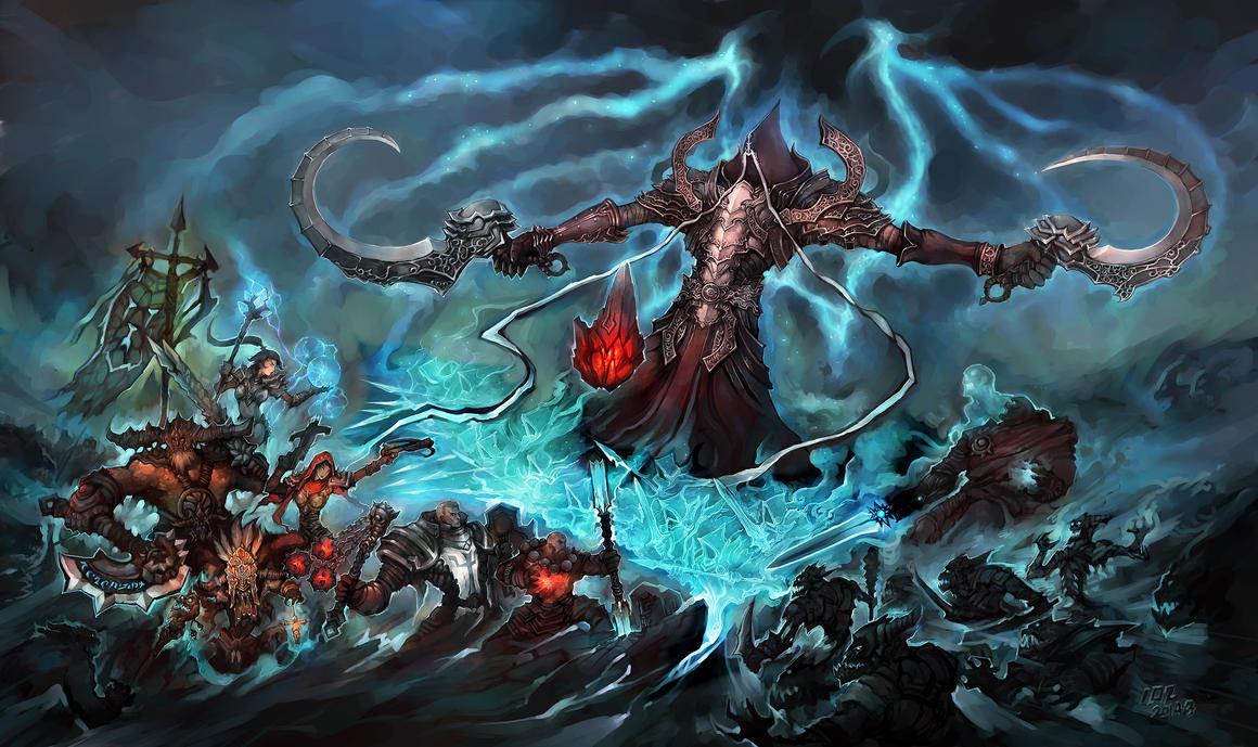 Diablo3 -The Angel of Death by liuhao726
