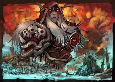 The anger of the Sylvanas