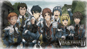 Valkyria Chronicles II psp by EvannGeo