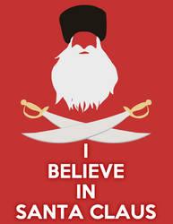 I believe in Santa by Zelir