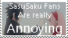 Request: SasuSaku is Annoying :: by Kick-Smile-Plz