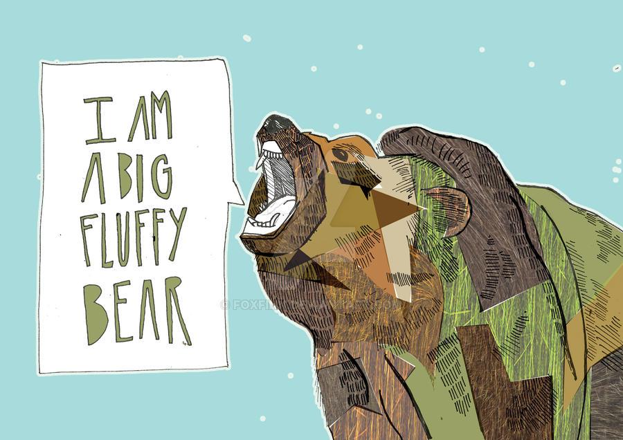 Big Fluffy Bear Dog Breee