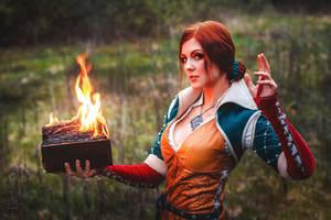 Triss (Witcher 3) (5) by VirdaSeitr