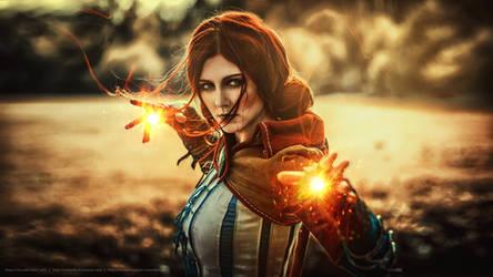 Triss (The Witcher 2) (2) by VirdaSeitr