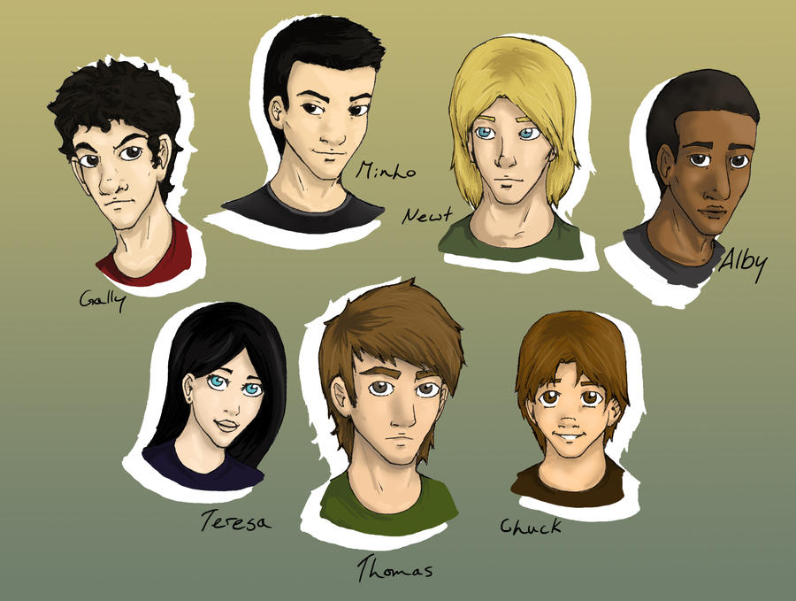The Gladers by JoeyHazelLM