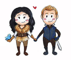 The Bandit Princess and the Replacement Prince