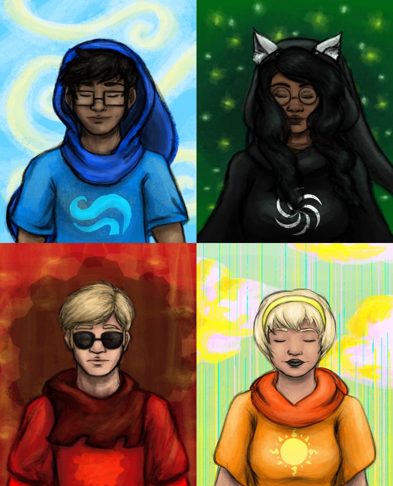 Beta Kids - God Tiers by JoeyHazelLM