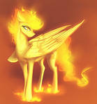 Fire poni by Sevenada