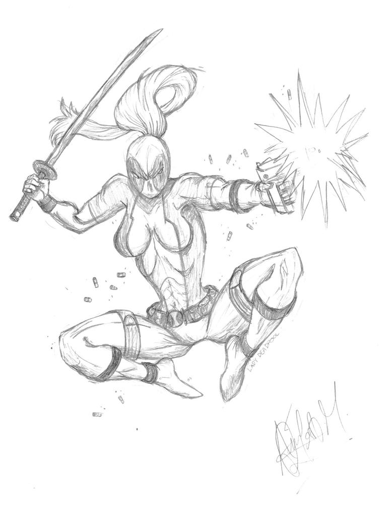 Image Result For Deadpool Coloring Pages