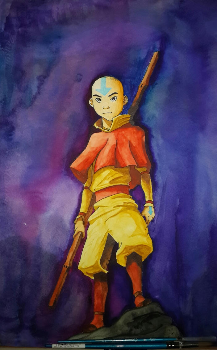 The Last Air Bender (with process video) by xylotto
