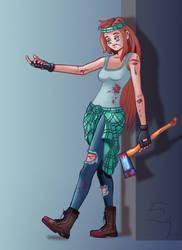 Weirdmageddon Wendy by xylotto