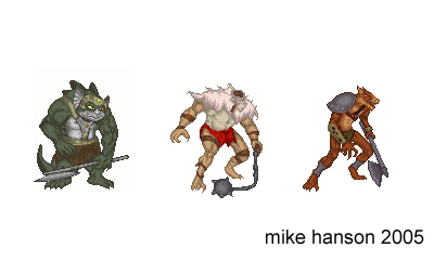 'Thundercats Mutants' pixel by MichaelHanson