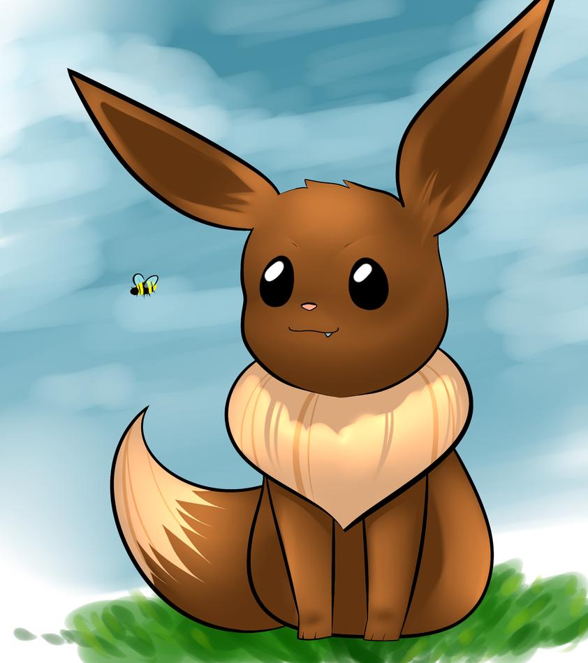 Eevee by MsDollyTate