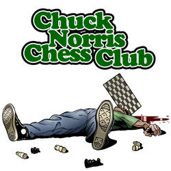 Chuck Norris Chess Club by petersen1973