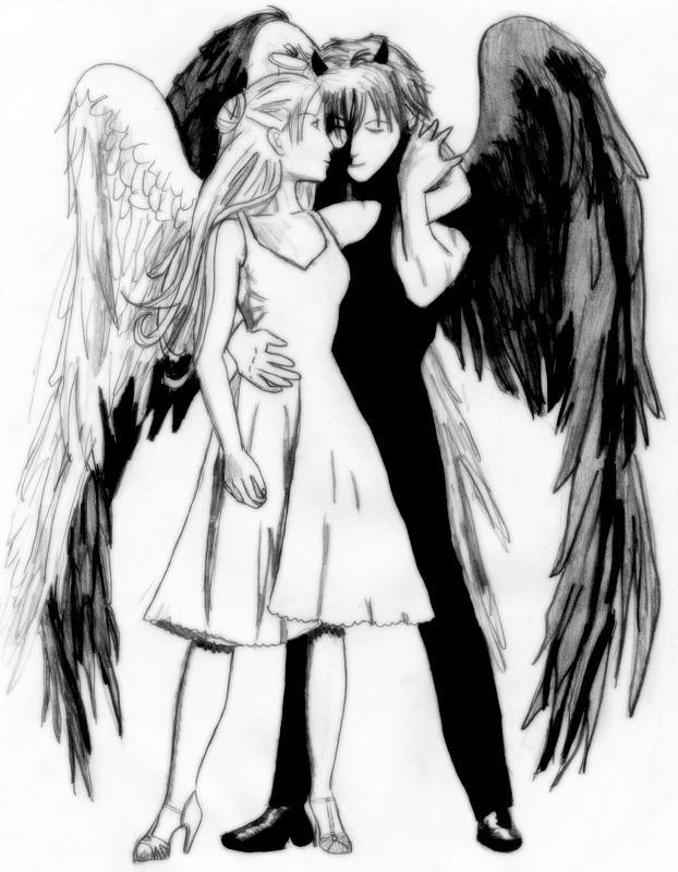 Angel And Devil By KittyNeko-kun On DeviantArt