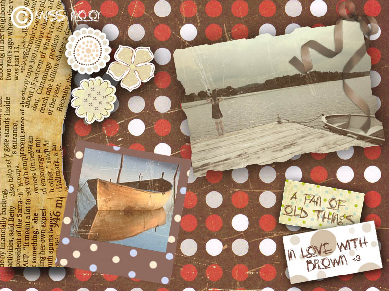 My first scrapbooking by MissNooy