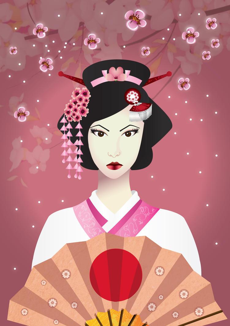 Sakura Geisha by aina101