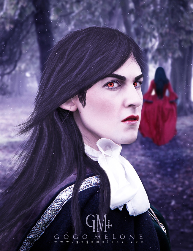 Portrait of a Vampire by gogomelone