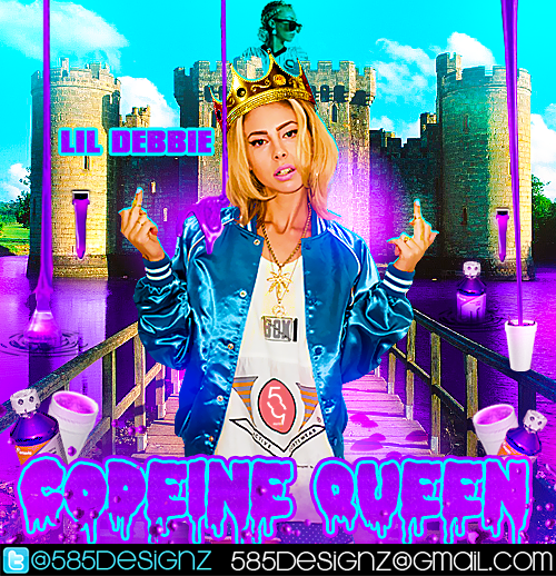 Codeine Wallpaper: Codeine Queen Mixtape By 585designz On DeviantArt