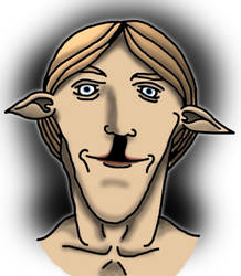 Elf with a cleft lip