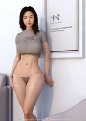 Cute Hyejin by lm3d