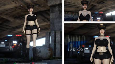 Nina - Bad Cop by lm3d
