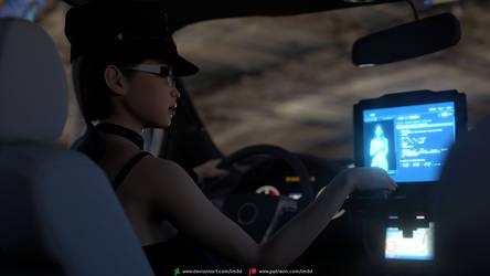 Nina - Bad Cop 2 by lm3d