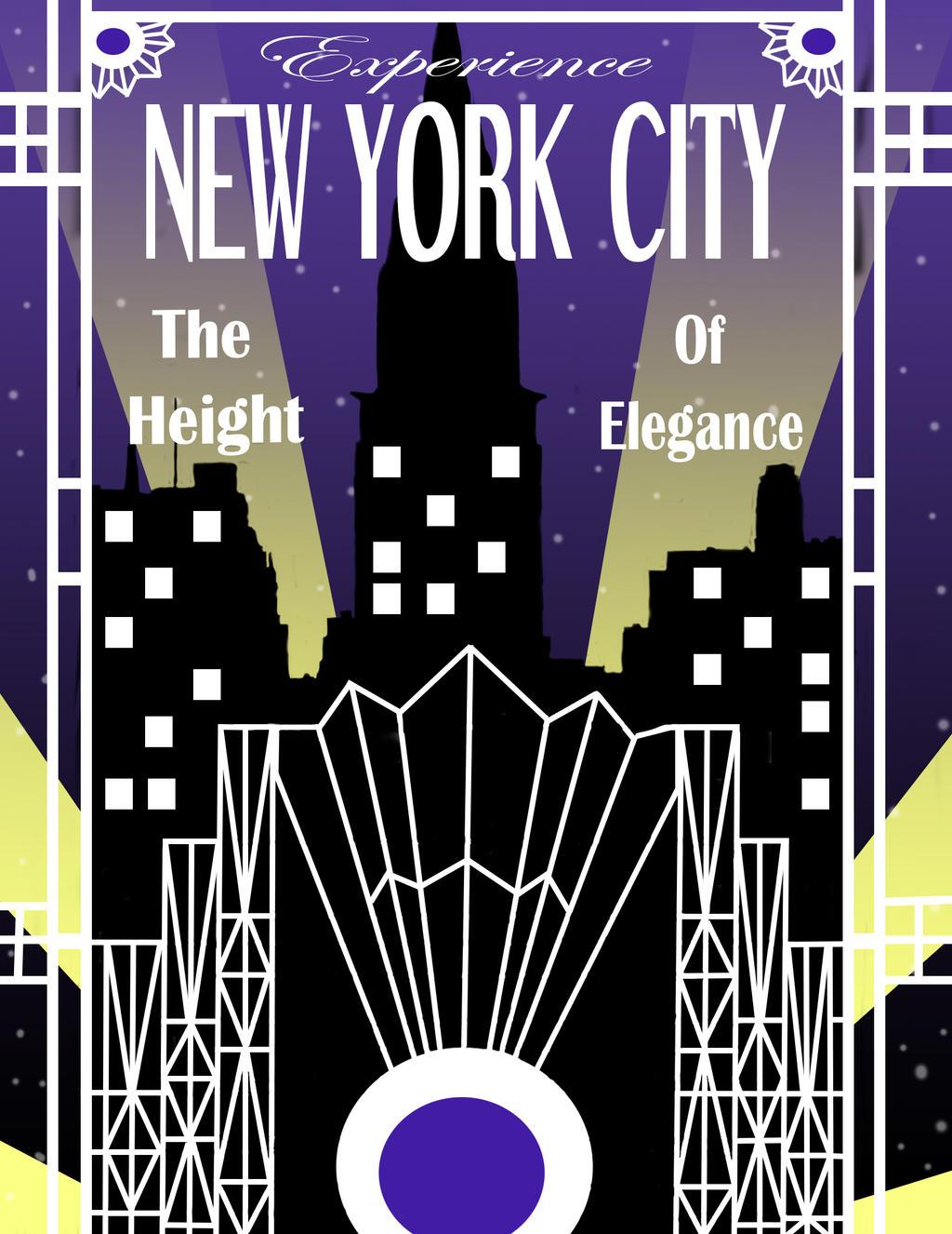 Art Deco Design New York City By JeanineWilder On DeviantART
