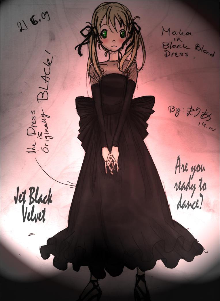 Maka in Black by spiralDorgapy