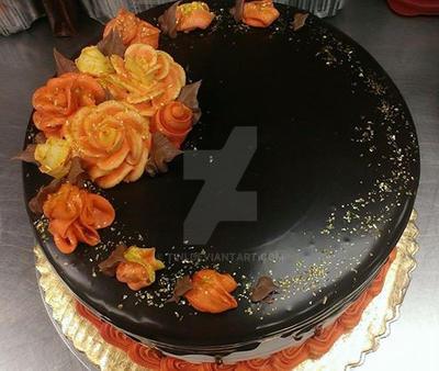 Autumn cake by tini