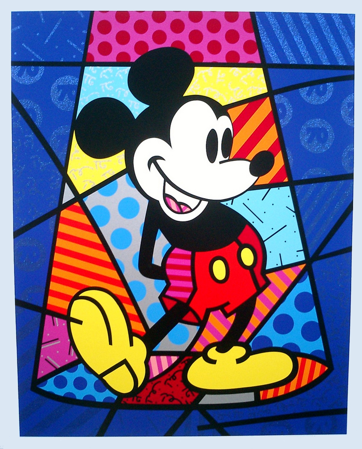 Mickey Mouse by abloggingape