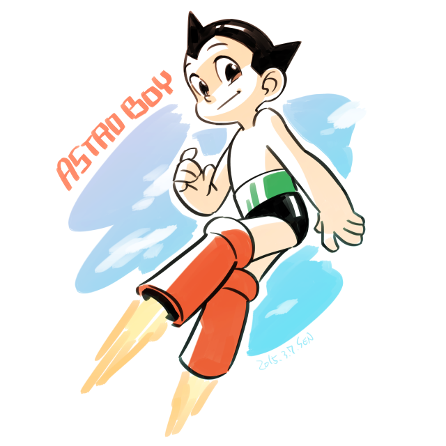 Astroboy by abloggingape