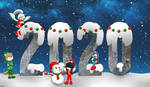 Happy New Year 2020 by Lady-Hanno-Art