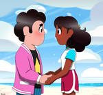 Steven X Connie by Lady-Hanno-Art