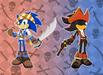 Pirates Hedgehogs by Lady-Hanno-Art