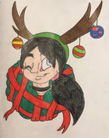 Christmas Headshot RQ: Mekari by KaijuDragon