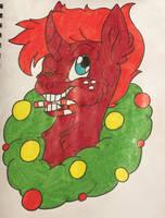 Christmas Headshot RQ: Alex Johnson by KaijuDragon