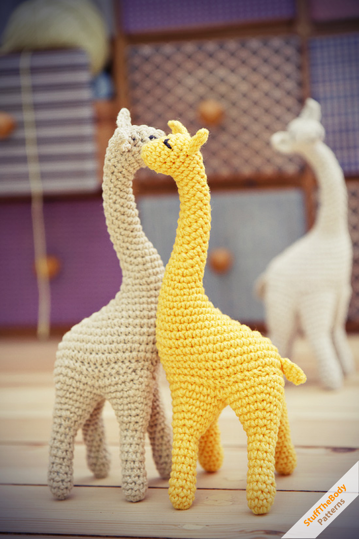Crochet Patterns For Giraffe : Giraffe crochet pattern by Stuffthebody on DeviantArt