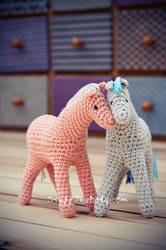 Horse/Pony Crochet Pattern by Stuffthebody