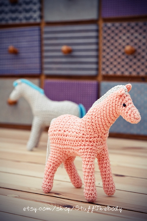 Horse/Pony Crochet Pattern by Stuffthebody on DeviantArt