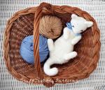 Rub-My-Belly Kitten Crochet Pattern