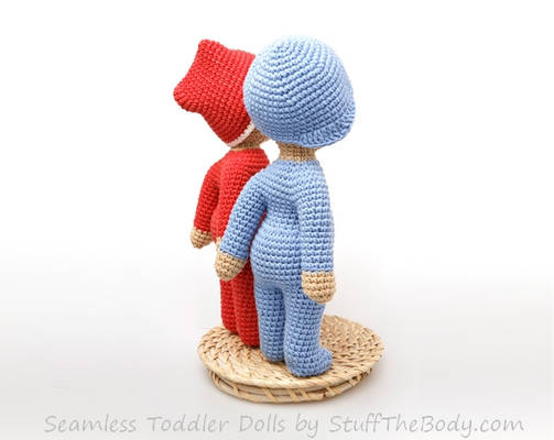 Seamless Amigurumi Toddler Doll