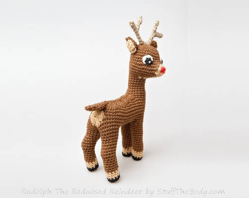 Rudolph The Christmas Reindeer Free Pattern Mod