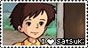 Totoro Satsuki Stamp