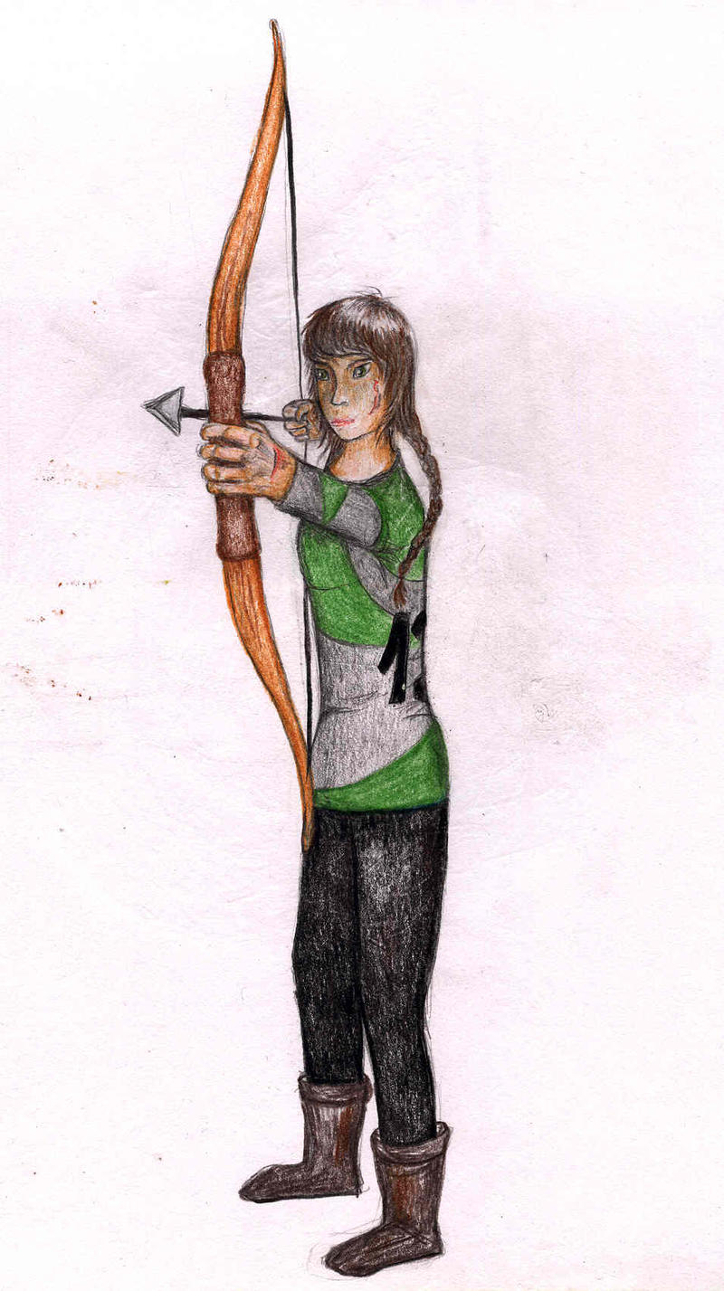Katniss Everdeen by NoreyDragon