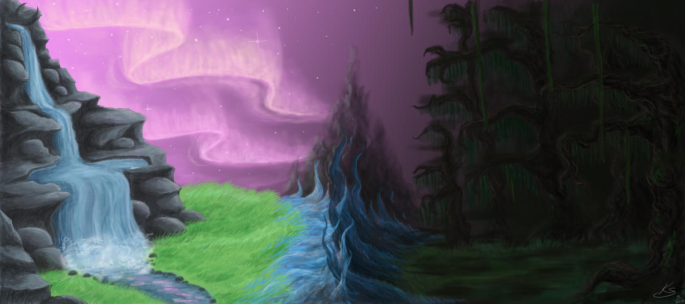 Where StarClan and Dark Forest collide by NoreyDragon