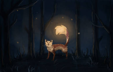 Speedpaint: A Light in the Dark by NoreyDragon