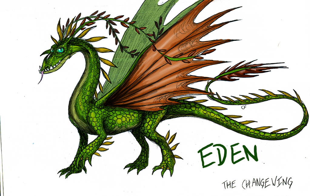 Eden the Changewing -concept- by ElementalShifter on ...