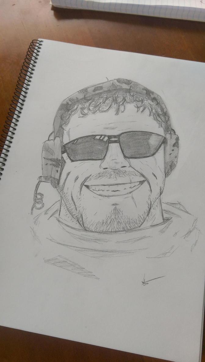 Portrait Doodle by Bluenova13